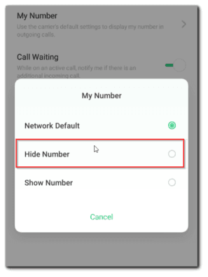 How to Block/Hide Caller ID on Android