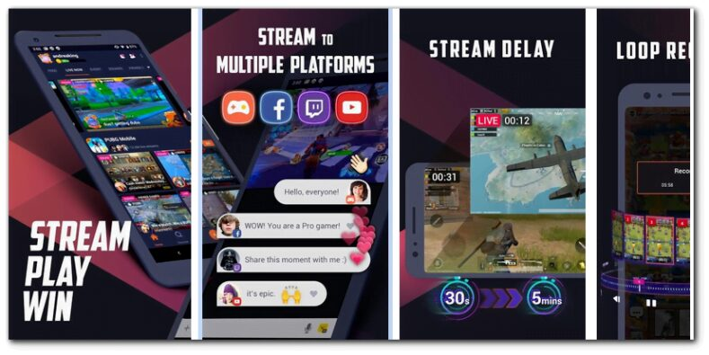 Omlet Arcade - best live streaming apps for gaming.
