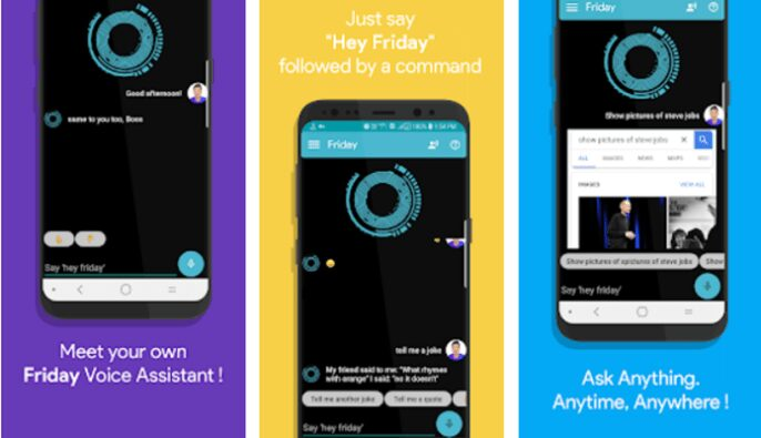 Friday - Smart Personal Assistant